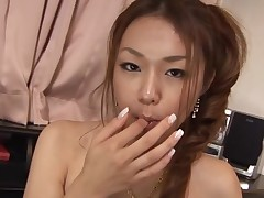 Have fun staring at beautiful Oriental chick getting banged hawt