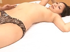 Japanese playgirl enjoys rough anal toying and unfathomable pounding
