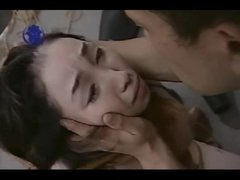 Asian Rubber Tube Bound And Spanked